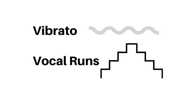 vibrato and vocal runs
