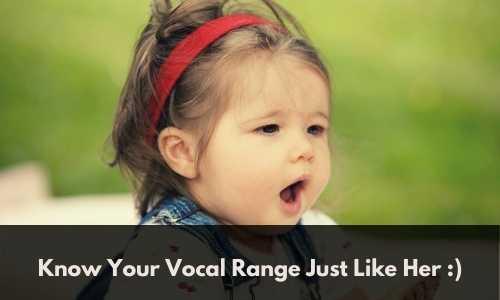 Find Your Vocal Range