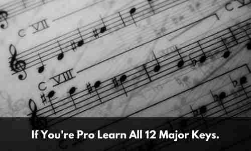 Learn the major scale
