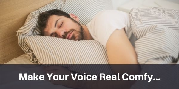 Sing in a comfortable range