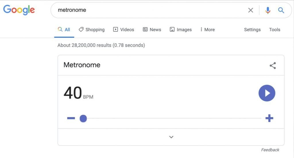 google-metronome