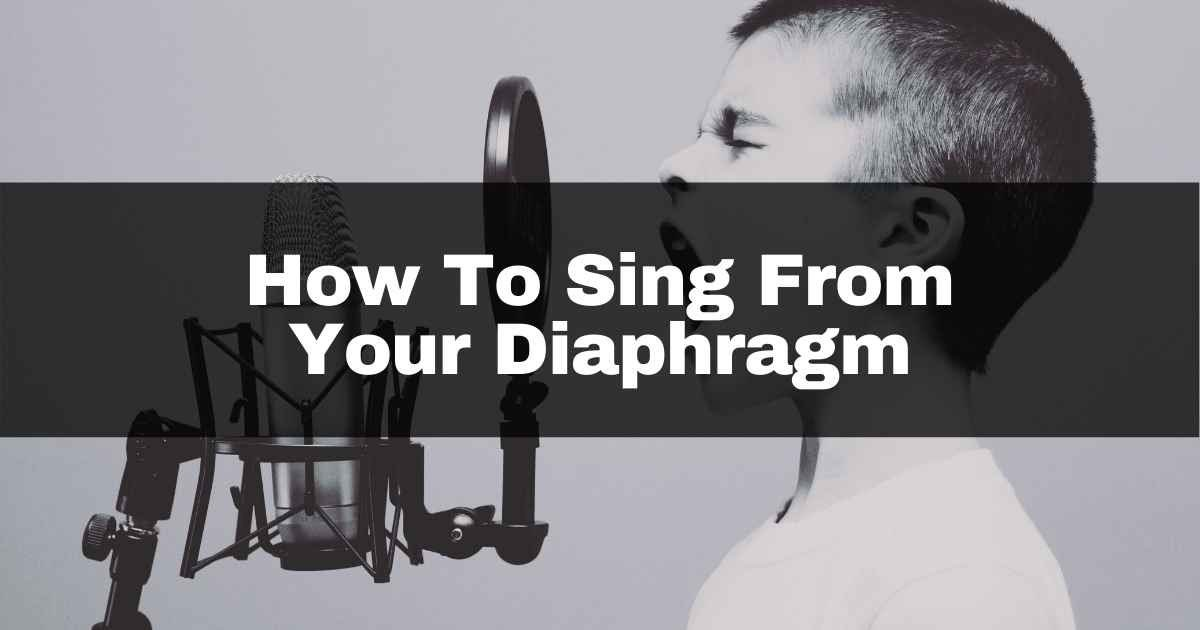 How to sing from your diaphragm banner