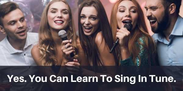learn how to sing in tune