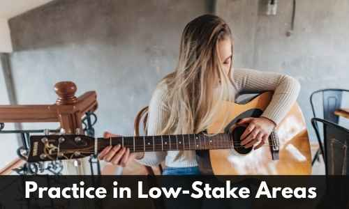 practice in low-stake areas