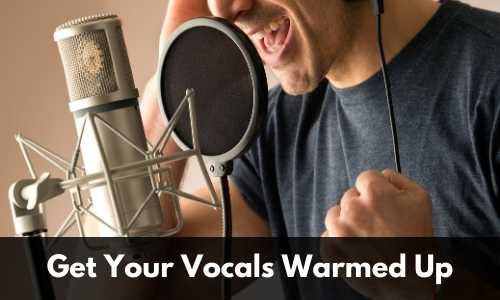 Warm up your vocals
